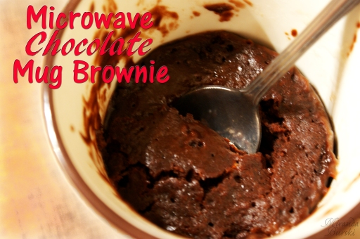 Microwave Chocolate Mug Brownie