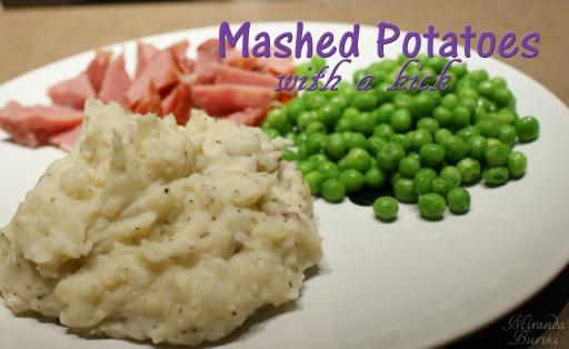 Mashed Potatoes with a Kick