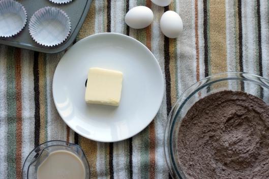 Mochaccinno Cupcakes ingredients