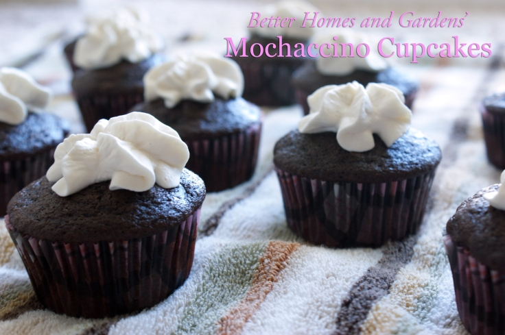 Better Homes and Gardens' Mochaccino Cupcakes