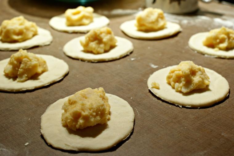 Potato and Cheese Perogies