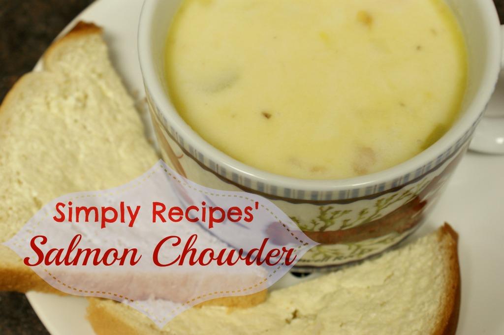 Simply Recipes' Salmon Chowder
