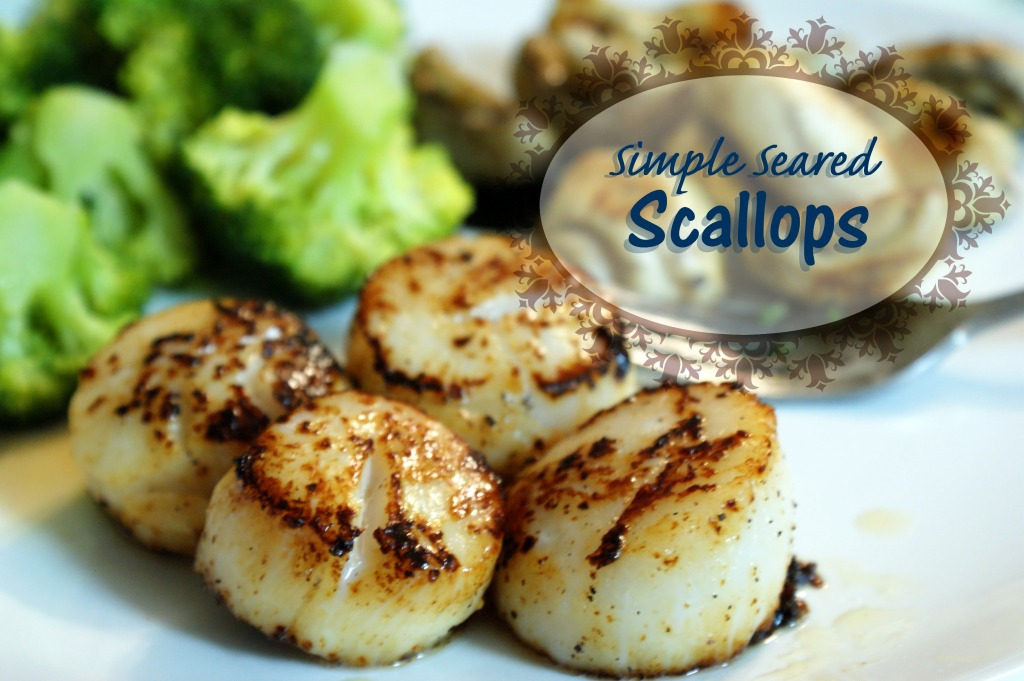 Simple Seared Scallops