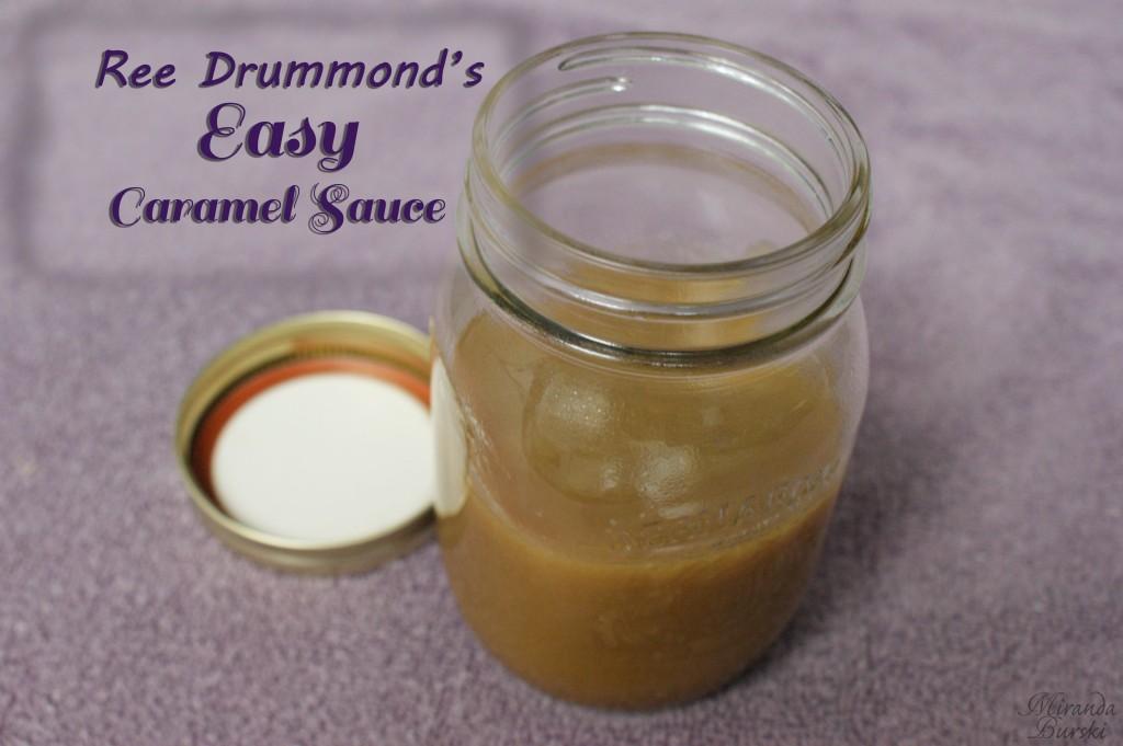 Ree Drummond's Easy Caramel Sauce