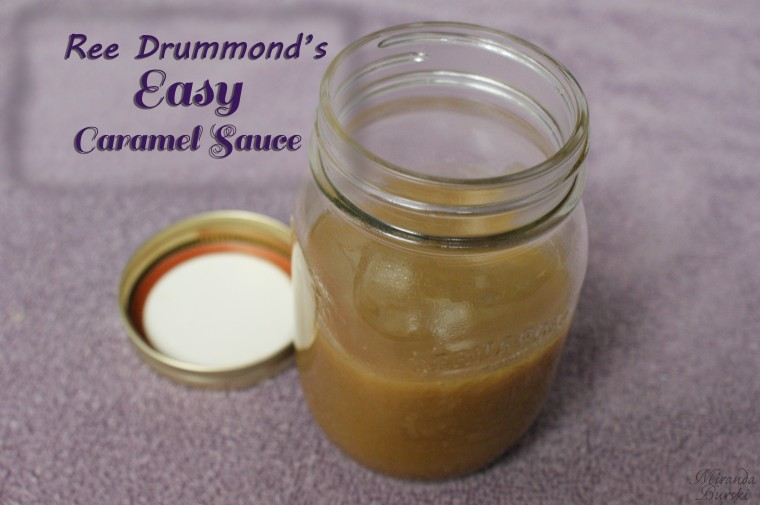 Ree Drummond's Easy Caramel Sauce