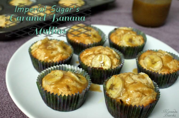 Imperial Sugar's Caramel Banana Muffins