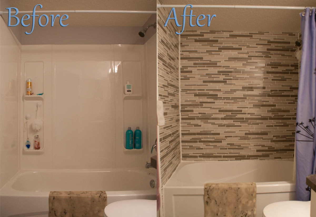 Bathroom remodel before and after apartment design ideas for Bath remodel before and after pictures
