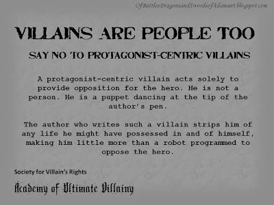 Villains Are People Too