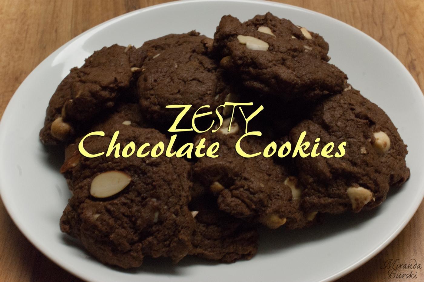 Zesty Chocolate Cookies