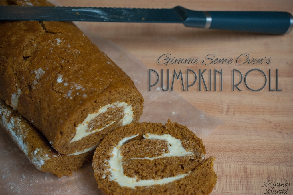 Gimme Some Oven's Pumpkin Roll