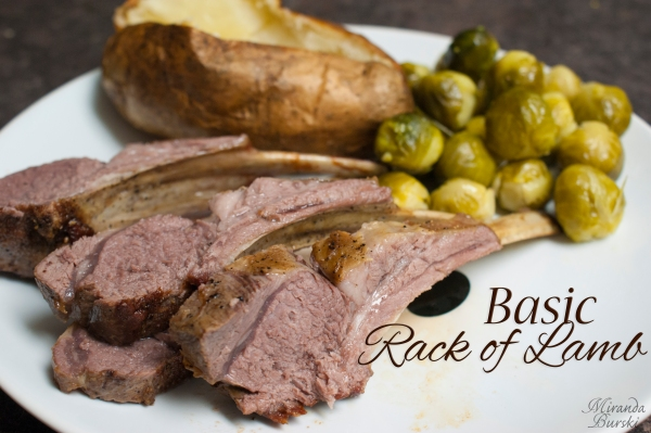 Basic Rack of Lamb