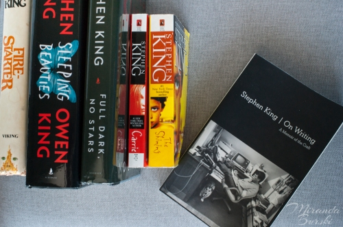 A selection of books by Stephen King