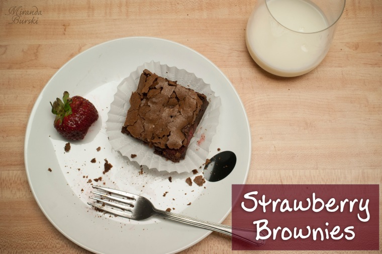 Strawberry Brownies