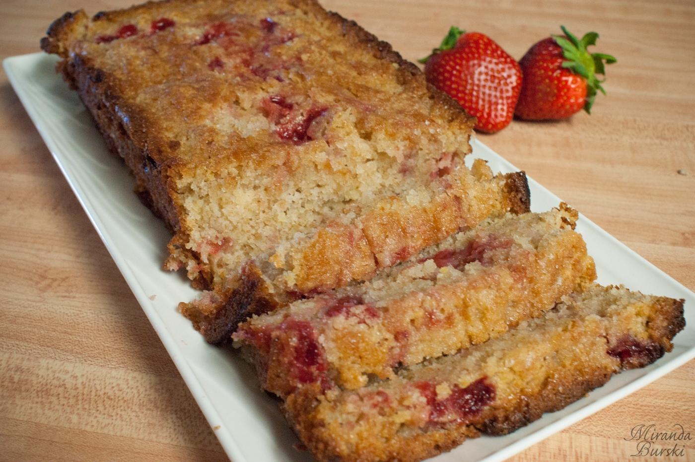 Strawberry-Swirled Lemon Loaf