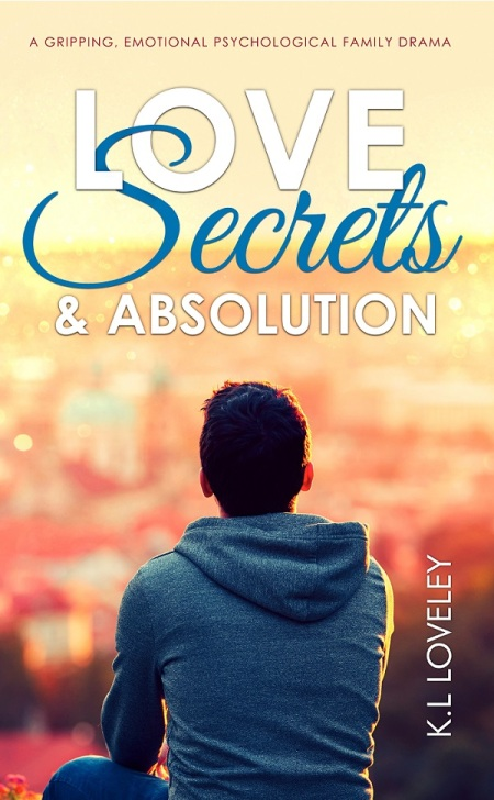 Love, Secrets and Absolution book front cover - KL Loveley - 600px