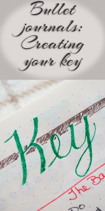 Bullet journals: Creating your key