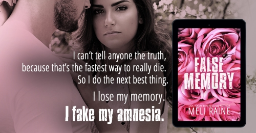 A teaser for False Memory, by Meli Raine