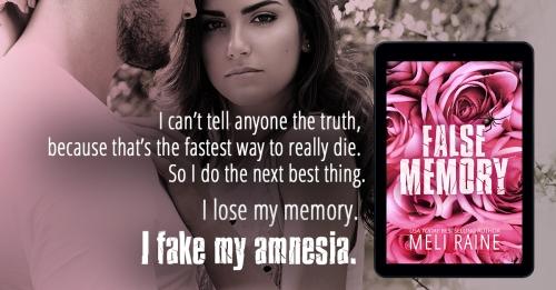 A teaser for False Memory, by Meli Raine