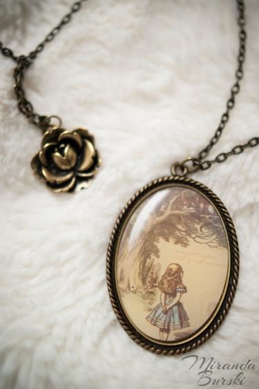 An Alice in Wonderland Necklace