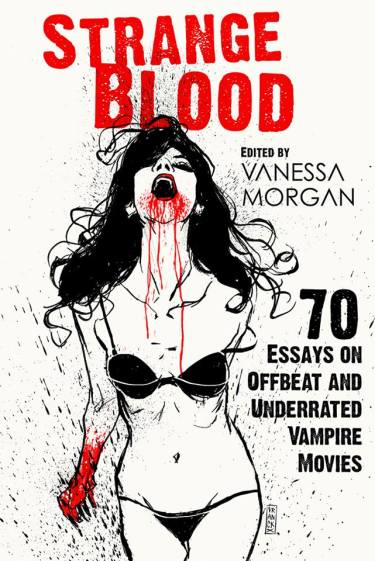 The cover of Strange Blood, by Vanessa Morgan