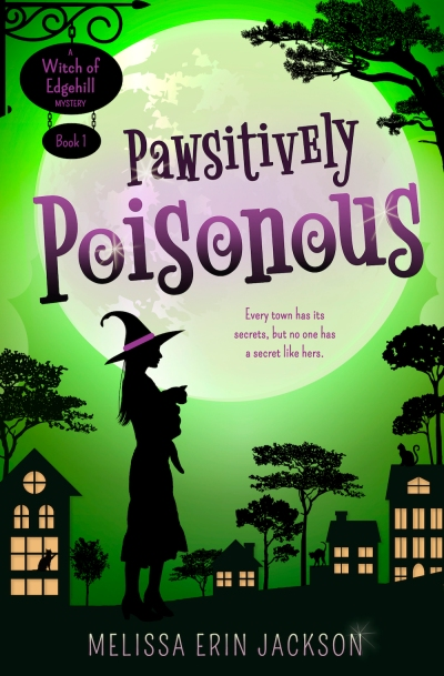 The cover of Pawsitively Poisonous, by Melissa Erin Jackson