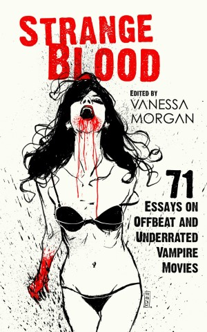 The cover of Strange Blood, edited by Vanessa Morgan