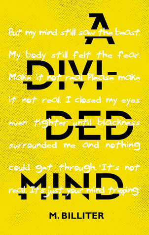 The cover of A Divided Mind, by M. Billter.