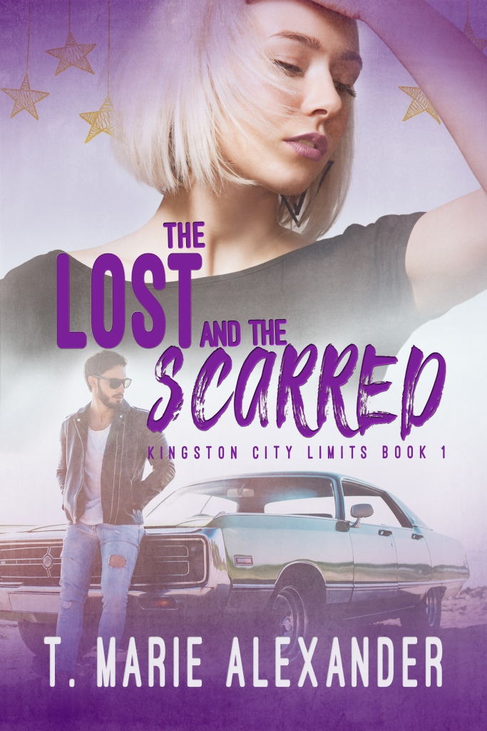 The cover of The Lost and the Scarred, by T. Marie Alexander