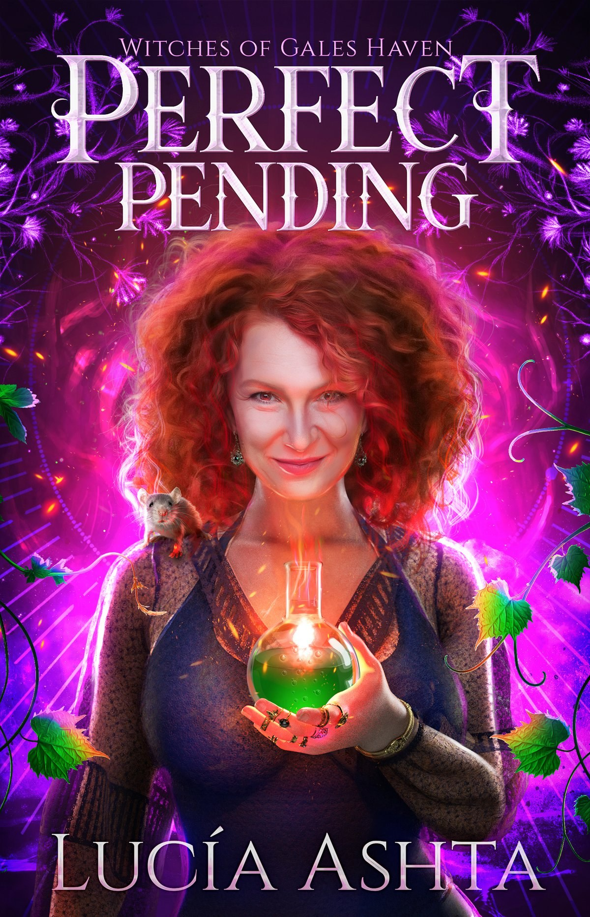 The cover of Perfect Pending, by Lucia Ashta