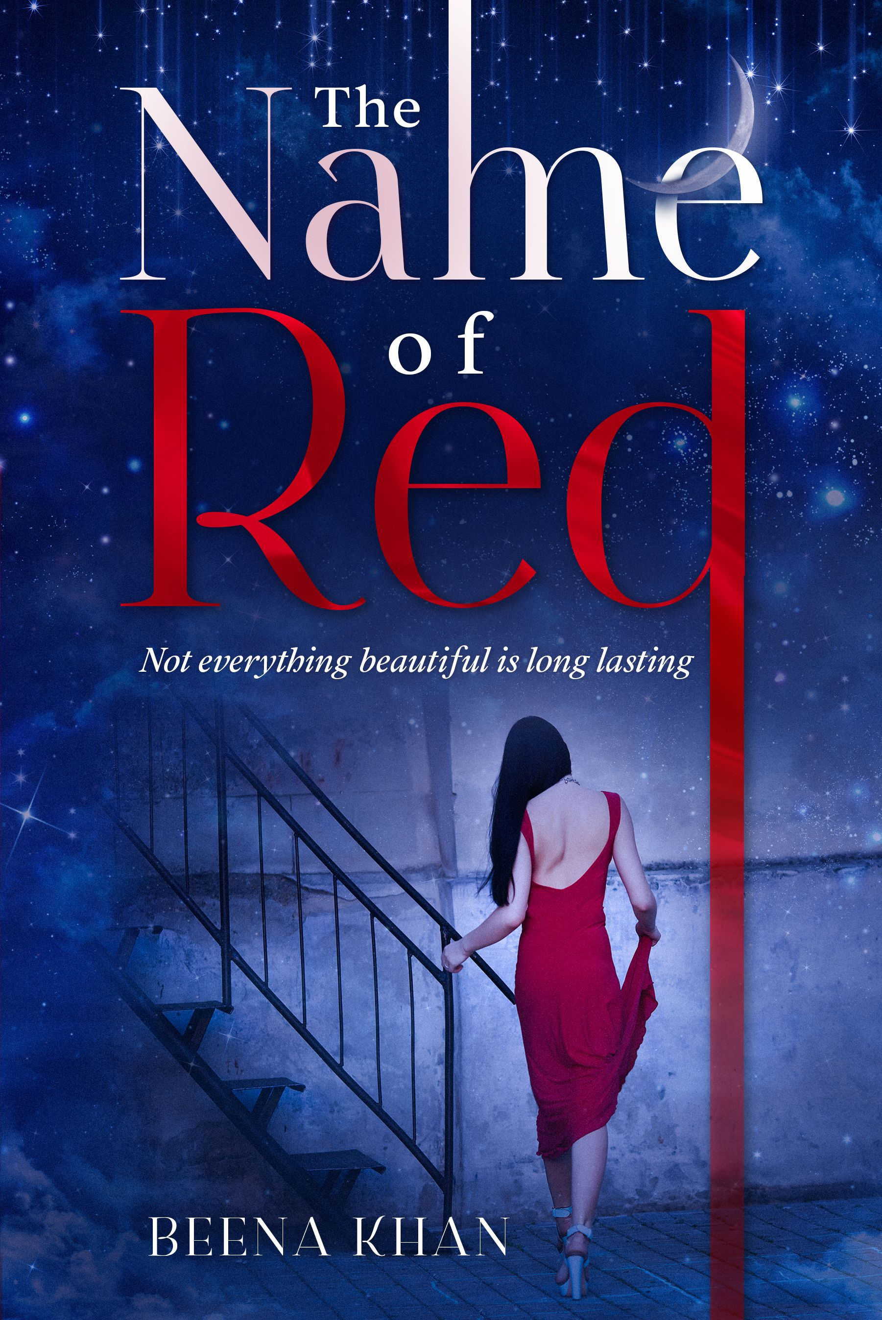 The cover of The Name of Red, by Beena Khan